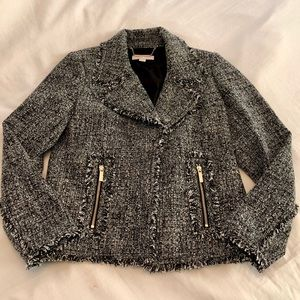 Michael Kors Frayed Tweed Jacket - NWOT
